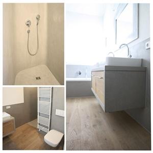 bad betonoptik holz best betonlook mit ornamenten badezimmer beton fliesen bad holz selber. Black Bedroom Furniture Sets. Home Design Ideas